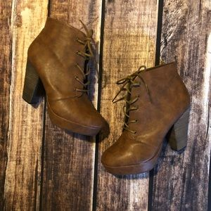 Madden Girl Beast Lace Up Boots